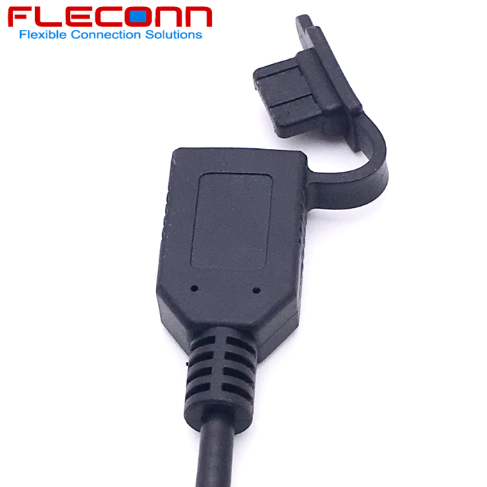 USB 2.0 A Female Data and Charge Cable with Dustproof Cap Cover.jpg