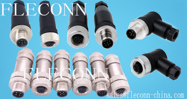M12 Field Wireable Connectors