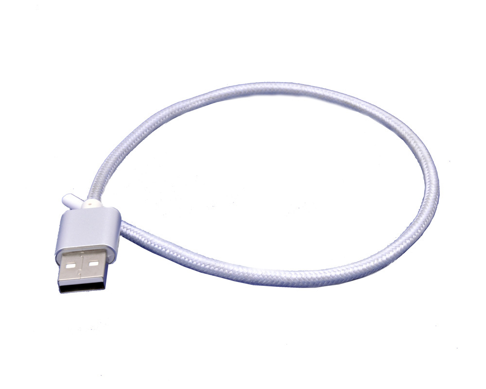 Nylon Braided USB data sync Charging Cable