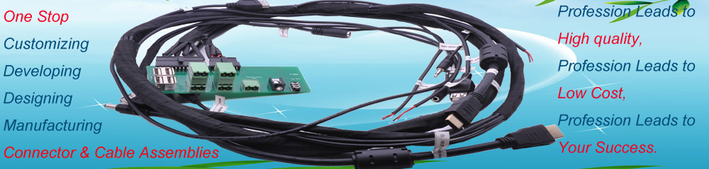 Custom Cable Assemblies, Wire Harness, Wiring Looms Manufacturers