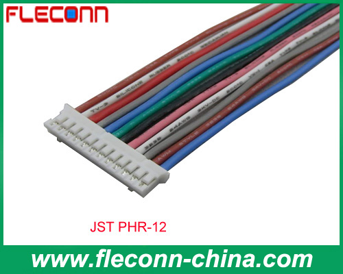 JST PHR-12 PH Series Wire to Board Connector and Wire Harness Assembly