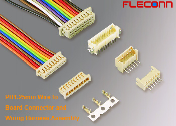 PH 1.25mm Wire to Board Wiring Harness