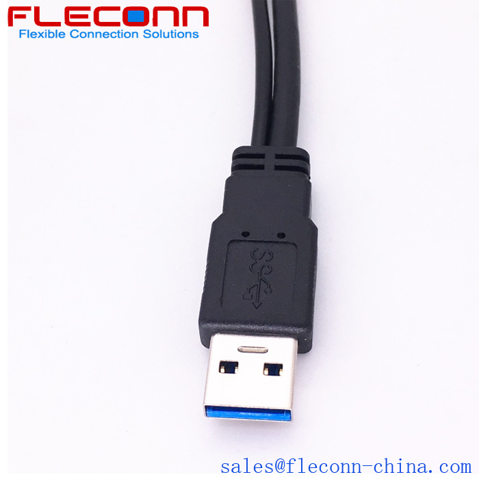 USB 3.0 Y Splitter Cable
