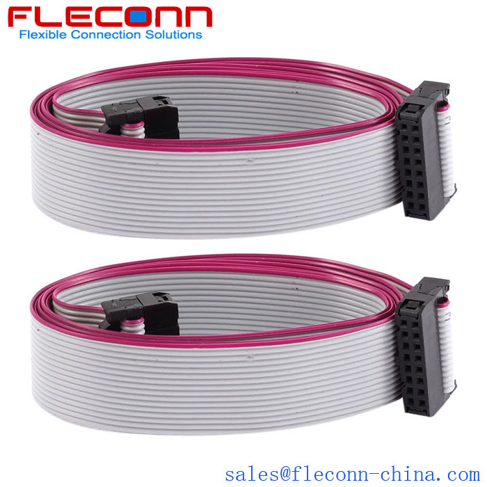 18p ribbon cable female connector AWM 2651 IDC flat cable