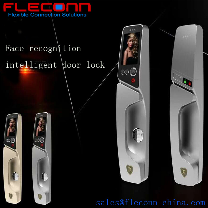 Fingerprint face lock