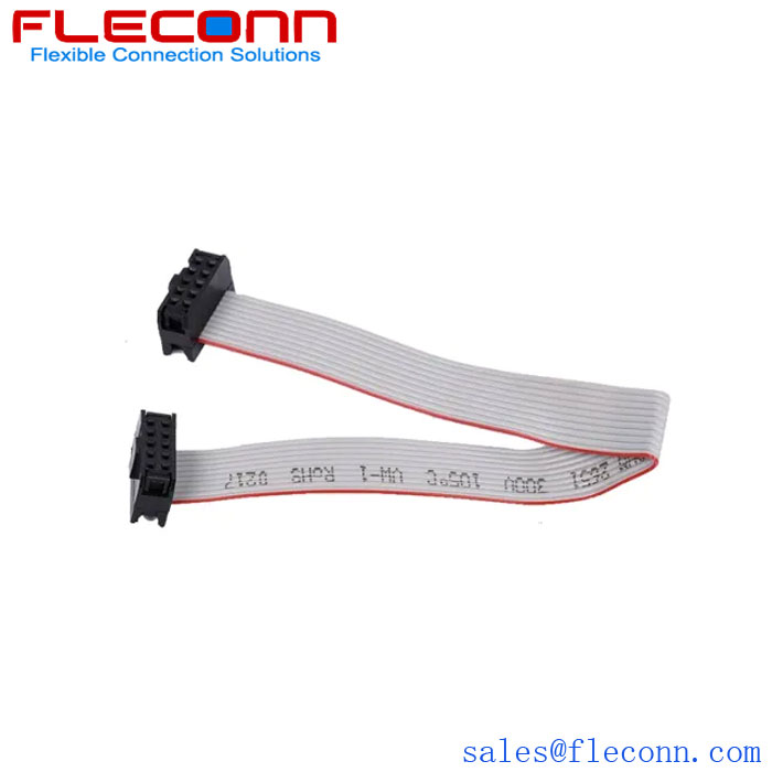10 Pin 1.27mm Pitch IDC Ribbon Flat Cable